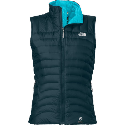 The redesigned North Face Women's Thunder Micro Down Vest features FlashDry technology, 800-fill European down insulation, and a women-specific, alpine fit to keep you warm, comfortable, and looking your best. - $119.37