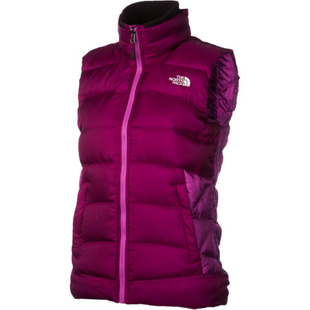 You may be hardcore, but make way for a soft and warm core: cozy, comfy The North Face Snowbrush Down Vest. Wrap your vitals with nice and toasty, lofty and lovely 600-fill goose down and keep your arms free and easy to do all that mountain-woman work or, let's be honest, play in the snow. - $96.82