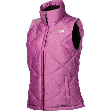 Sometimes, feathers and diamonds are just plain practical. Have some sense, and toss on The North Face Novelty Aconcagua Vest for added warmth under a shell on those dead-of-winter days, or  wear it by itself in cool weather. It also has a soft, brushed inner collar, looks luxurious, and zips into compatible The North Face shells for the perfect paring. See' Sensible. - $77.97