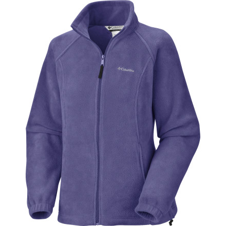 Camp and Hike Frost covers the ground on your autumn hike, but the Columbia Women's Benton Springs Full-Zip Fleece Jacket keeps you toasty warm. Non-pilling fleece lasts season after season, and you always have an occasion to wear a nice fuzzy jacket, whether you're hiking, biking, camping, or just making s'mores in the back yard. - $34.95