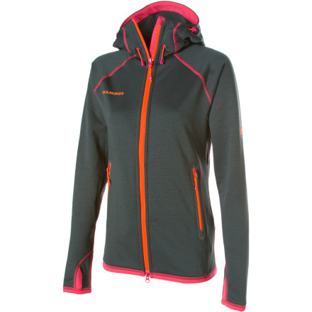Ski Some warm layers just feel bulky and floppy under your ski or climbing shell. The Mammut Women's Schneefeld Fleece Jacket, however, has a sleek Polartec Thermal Pro fabric and an athletic fit that never feels like a drag. - $249.95