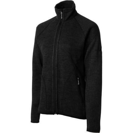 Whether you're wearing it on its own while you rake leaves on a crisp fall day or need an extra mid-layer for cold days at the resort, the Mammut Women's Arctic Fleece provides soft and fuzzy warmth you can count on. - $98.42