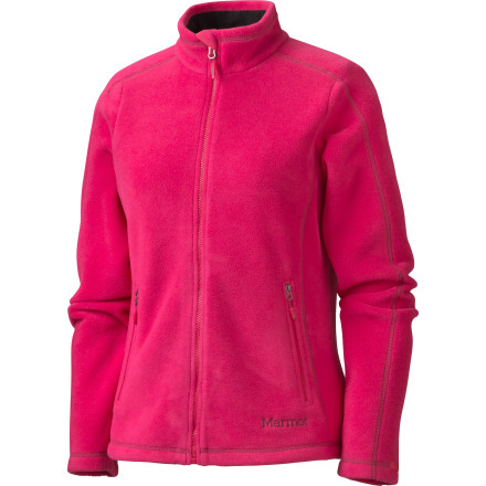 The Marmot Womens Furnace Fleece Jacket gives you the versatility of a 200-weight fleece without the cookie-cutter styling. - $49.98