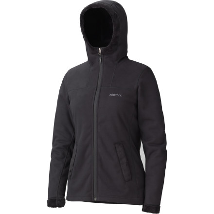 The Marmot Lakeside Hooded Fleece Jacket fits in any scene: lake, river, mountain, you name it. Warmth, wind-resistance, and breathability make it an essential player anywhere; change the setting, keep the fleece. - $74.22