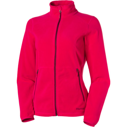 Ski Cold nights can make even a luxurious campsite downright chilly, so pack the Marmot Women's Flashpoint Fleece Jacket. This midweight fleece comes in handy as a top layer when you're backpacking and as an insulating layer when you're skiing and snowshoeing in winter. Fine fit-and-finish details like stretchy Lycra cuffs and a soft chin guard make all the difference when you want to feel comfortable. - $44.98