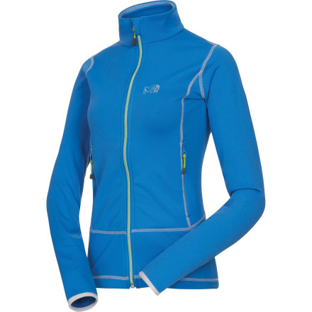 Fitness Whether it's early-morning jogs, outdoor yoga sessions, or autumn yard work, the Millet Women's Tech Stretch Fleece Jacket has the soft warmth and stretchy freedom of movement you need to get the job done. Flat seams up the comfort level and allow the jacket to easily slide beneath outerwear when storms roll in. - $59.92