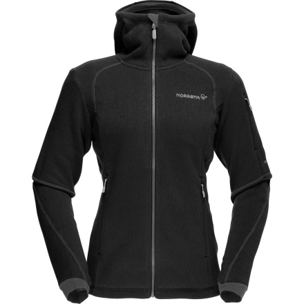Whether you need another layer of warmth or a sweet-looking around-town jacket, look no further than the Norrna Women's Rldal Warm3 Fleece Jacket. Equipped with 300-weight Polartec Thermal Pro fleece, the Rlda keeps your body temperature in checknot too warm or too coldwhile you tour, mountaineer, or take in the mountain-town Mardi Gras festivities. - $218.90