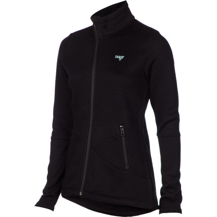 With the Orage Women's Rosewood Fleece Jacket layered beneath your shell, you're able to withstand chilly temperatures when you make high-speed turns down groomers or straightline out of a tight chute. This toasty midlayer has a performance fit for plenty of movement, while an asymmetrical front zipper offers style off the slopes. - $65.97