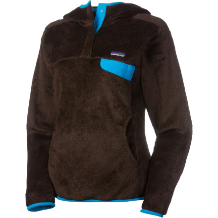 Patagonia's Women's Re-Tool Pullover Hooded Fleece Jacket utilizes cutting-edge Polartec Thermal Pro polyester to offer unsurpassed warmth and comfort in a snug, stylish package. A slim fit follows a flattering feminine line for a great casual look, all while disguising the functionality of a garment that can readily be worn as a layer. - $97.30