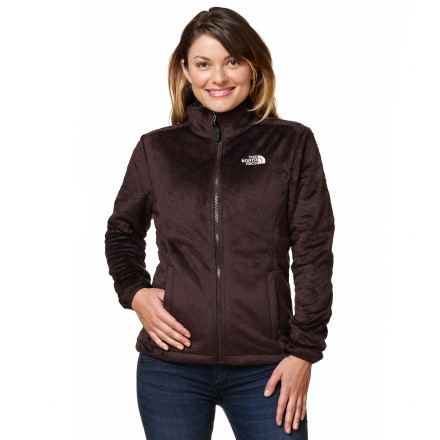 Sometimes a fleece jacket feels like a thin beach towel. Disappointing. The North Face Women's Osito Fleece Jacket, however, feels like a high-loft, plush, fuzzy fleece blanket. A standard fit means the Osito slides easily over a tee or long-sleeve thermal top, and the cuff-snaps attach to The North Face Triclimate shells for a day on the slopes. - $98.95
