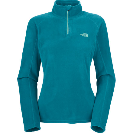 The North Face's top-selling TKA 100 Microvelour Glacier  1/4-Zip Fleece Pullover now features the premium Polartec Classic 100 fleece for unparalleled performance. Perfect for layering or wearing on its own on cool fall days, the super-soft TKA Microvelour Glacier Fleece provides cozy warmth at an even lower weight than ever before. - $54.95