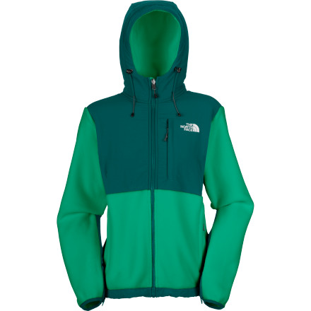 The North Face gives you more to love with the Women's Denali Hooded Fleece Jacket. Thanks the brilliant addition of a hood, you get more of the expedition-weight fleece. What's more, the entire jacket is made from recycled and environmentally-certified materials for reduced greenhouse gas emissions and gasoline consumption. - $139.27