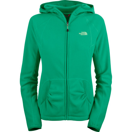 The North Face Women's TKA 100 Texture Masonic Hooded Fleece Jacket sure has a long name, but its list of features is even longer. - $69.95