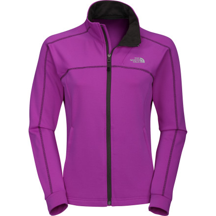 Camp and Hike Zip on The North Face Women's Momentum Fleece Jacket before your next early-morning run. As you warm up and start to pick up speed, the soft, brushed inner face of the TKA Superstretch fabric wicks moisture to the smooth outer layer for quick dispersal. The sleek, stretchy performance fit and the smooth face of the Momentum also make it an ideal layering piece, so you don't get bunching and that annoying fleece-on-fleece grabbing when you pull your softshell on over it during a late spring camping trip. - $98.95
