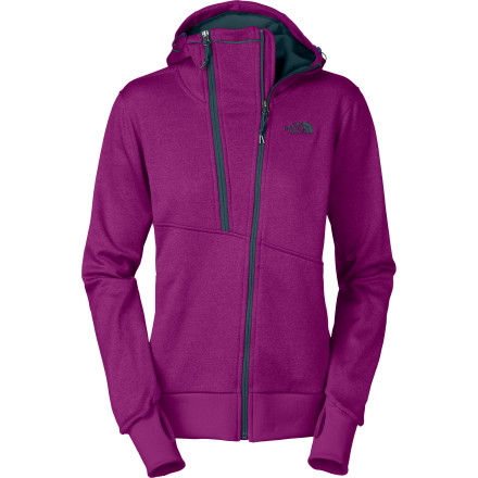 The Women's Stynger Fleece Hooded Jacket is made with The North Face's Apex Universal softshell and lives in the Freeride collection, which means it's ready for laps in the park and feet-up refreshments afterwards. - $64.32