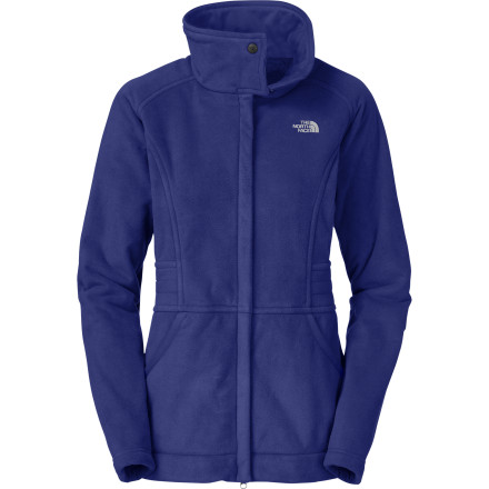 When you think of a fleece, you don't typically picture something with a long, urban style like The North Face Women's Angelica Fleece Parka. That's because this fleece isn't typical. A silky smooth liner lends the inside of this parka a heavenly feel, and the tall collar' A subtle touch of design that's as functional as it is stylish. - $125.97