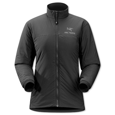Ski The Arc'teryx Women's Atom LT Jacket cranks up the thermostat when you need an insulating ski layer on an extra-chilly day. Arc'teryx's Coreloft puffy insulation fortifies the jacket's front, back, arms, and shoulders. And since you'll be working up a sweat on your high-altitude ski tour, Polartec Power Stretch panels on the jacket's sides and underarms provide excellent breathability and airflow at the sides. On days that are both frigid and snowy (you hardcore thing, you), layer a waterproof shell over this trim-fitted jacket to combine protection with insulation. - $198.95
