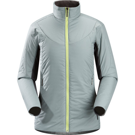 Whether you're wearing it about on the town, or sandwiching it between an Arc'teryx baselayer and shell to create to create the ultimate cold-weather survival system, the Women's Ceva Insulated Jacket warms you to your core. Low-bulk Coreloft insulation in exposed areas and slim, stretchy knit on the undersides of the arms and along the sides balance warmth with mobility and wearable comfort. - $125.92