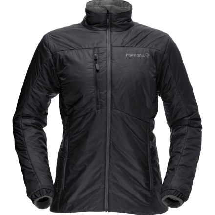 Norrna does it right with its Women's Lyngen PrimaLoft 60 Insulated Jacket. Packed with lightweight PrimaLoft Sport insulation, a water-resistant Aerodown material, and a flattering, athletic cut, the Lyngen delivers a warm, breathable, and compressible jacket that you'll use as a mid-layer or wear alone on mild winter days around town. - $218.90