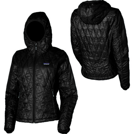 Ski When youre on the prowl, but your ex is unfortunately sniffing around, pull on the Patagonia Womens Nano Puff Hooded Insulated Jackets hood and hopefully he wont notice you on the slopes or killing the aprs-ski scene. - $249.00