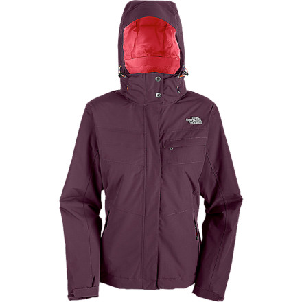 Whether the slopes are ripe with fluff or steeped in slush, The North Face Women's Inlux Insulated Jacket will keep you dry. The HyVent 2L shell and fully taped seams block water while letting perspiration escape, so you'll never feel soggy. Synthetic insulation cranks up the warmth on frosty mountain days. - $139.27