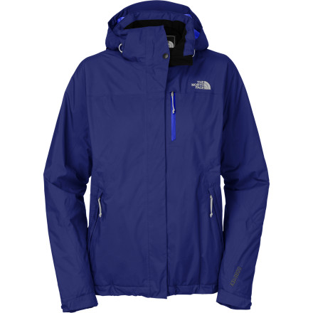 While less-prepared skiers hunker down in the lodge, you reap the benefits of a sudden storm with The North Face Women's Mountain Light Insulated Jacket. A waterproof breathable Gore-Tex membrane easily fends off snow, sleet, melting icicles, and rain, while PrimaLoft Eco insulation warms your core on chilly lift rides. - $164.42