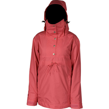 Snowboard Sometimes you ride slow, sometimes you ride quick. The Airblaster Women's Turtle Bunny Jacket not only looks hot at any speed but features 10K waterproof performance for protection your cozy no matter whatever weather rolls your way. From early fall to late spring, this  1/4ber-cool anorak pulls over your head and leaps into action. - $104.47
