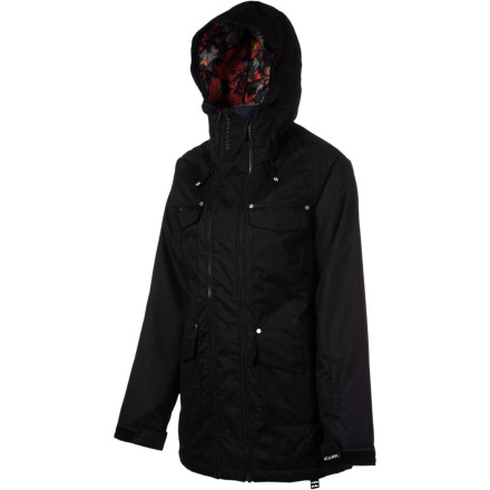 Snowboard Push your riding limits with the Billabong Women's Glaze Jacket. This insulated and weatherproof jacket keeps you comfortable all day and has a long parka length for park style. - $95.98