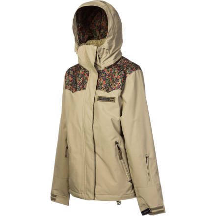 Snowboard Slide on the Billabong Women's Coda Jacket, step out into the fresh cold air, and make your way to the lift line for a solid day of riding. This comfy, insulated jacket shields you from lightly falling snowflakes. - $91.98
