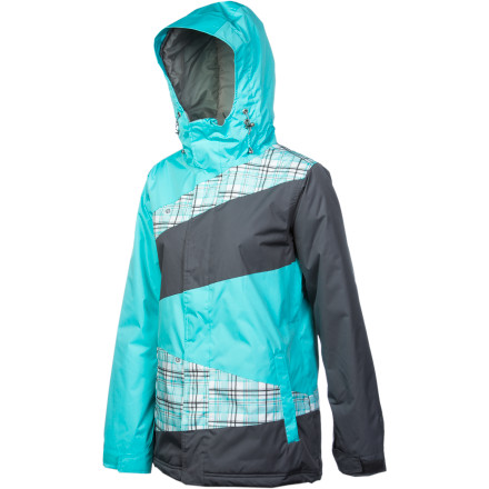 Snowboard There's a lot going on with the Betty Rides Classics Manic Jacket, and we're not just talking about its looks, either. Under the vibrant crazy-quilt exterior you'll find a boatload of technical features, all designed to allow you to ride out the stormiest days on the mountain. - $99.98