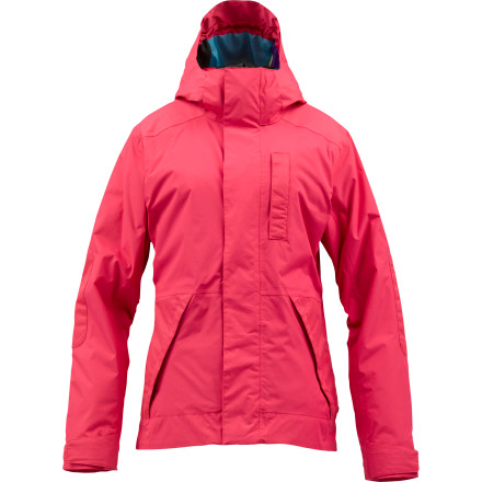Snowboard The Burton Women's Tonic Jacket keeps you feeling well not matter what the conditions. With a soft DryRide Durashell 2-layer fabric and 60g Thinsulate throughout the jacket, you can have confidence knowing you're going to be warm and dry all day. - $99.98