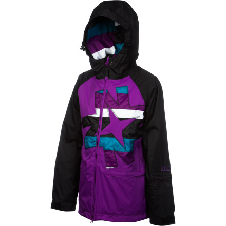 Snowboard There's fresh snow, and that means it's time to call in sick and zip up in your Nikita Women's Okmok Jacket. This cozy jacket is great for chill days in the park and carving lines through the groomers. Killer styling gives this jacket a fresh feel that will keep you looking good while you ride. - $80.53