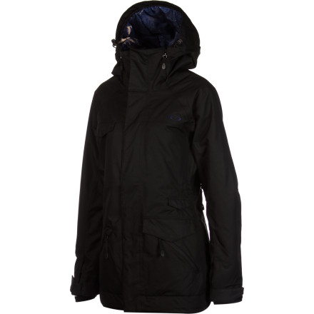 Snowboard It's not a typo in the name Oakley Women's Grete Insulated Jacket; while it is indeed a great jacket, it's inspired by ski pro Grete Eliassen. Shred like Grete, in comfort and style, with a water-resistant, breathable shell, toasty-warm Thinsulate, and a loose-fit, raglan-sleeve style that people notice; not that with your smooth, ripping moves you'd need that. - $196.00