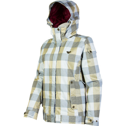 Snowboard The snow is falling, and that means two things: it's time to zip up in your Roxy Women's Torah Bright Orchard Jacket, and you are, obviously, calling in sick to work. This Torah-designed snowboarding jacket is feature-packed for resort days filled with park play and carving corduroy, and includes plenty of fresh style for chilly nights out on the town. - $110.00