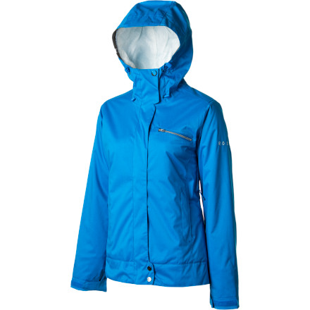 Snowboard The Roxy Women's Prairie Jacket serves up solid, straightforward style that is versatile and easy to wear, and its well-rounded tech keeps you warm while you ride. The clean lines and focused solids make it easy to put together a killer mountain look because you can pair this jacket up with a huge range of bottoms and accessories to personalize your swag. - $98.00