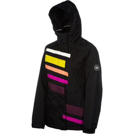 Snowboard Have a sample of Billabong's Nectar Women's Insulated Jacket and you won't be disappointed. Infidry 8K-rated  fabric and 100g lightweight synthetic insulation will have you out lapping up tasty pow turns all day. - $72.00