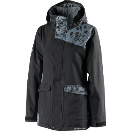 Snowboard You'll be ecstatic when you ride in the Special Blend Joy Women's Insulated Jacket. That's because it has a touch of insulation for an extra dose of warmth without bulk and a 10K-rated fabric that blocks out moisture so you stay dry, toasty, and happy all day. - $94.98