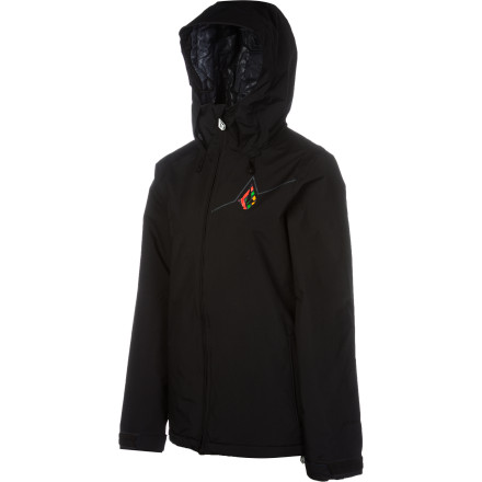 Snowboard When the wind starts nipping at you, slip on the Volcom Threat Women's Insulated Jacket and head back out. 60g insulation helps keep you warm and a regular fit provides plenty of room to layer underneath when temperatures really start dropping. - $79.98