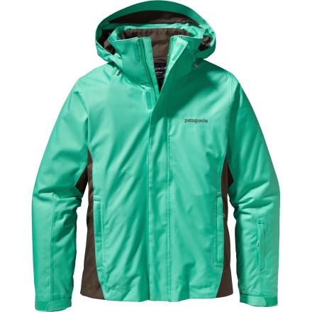 Ski You could try and change the weather, but it might be easier to change your jacket'''if your jacket is the uber-versatile Patagonia Women's 3-in-1 Snowbelle Jacket. Wear the weather-repellent shell with powder skirt, vents, and hood when the wind is whipping or the sky is dumping. Add the light insulated liner when the temps plummet and you want a double-duty dry-and-cozy barrier. Go free and easy in the liner when the weather eases and a little moisture-protection and warmth is all you need, when lounging in the cabin, or bar-hopping apr''s-ski. And while you can't control Mother Nature, you can give her a nod while wearing the eco-friendly, recycled Thermogreen insulation. - $219.45