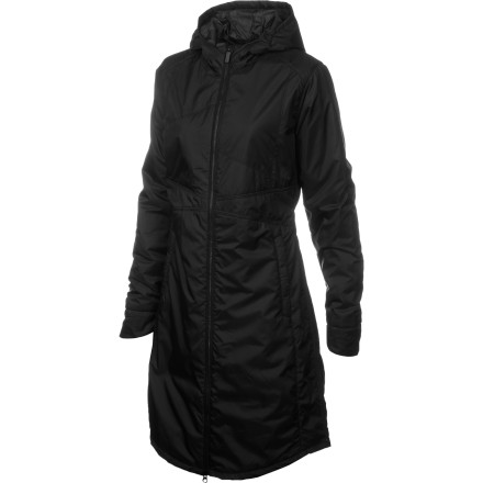 Filled with light, lofty PrimaLoft insulation and covered in silky-smooth weather-resistant ripstop, the Horny Toad Women's Cloudcover Trench Coat protects you from the brutal outdoors. Made from 100% recycled polyester, this coat will make you feel warm and fuzzy on the inside, too. Mother Nature thanks you, but in a flattering trench like this, it hardly feels like sacrifice. - $130.87