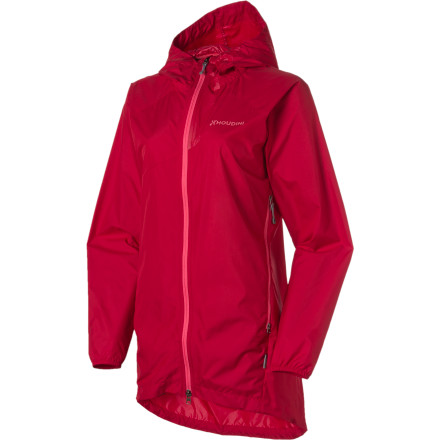 Instead of staying inside just because it might drizzle, keep the packable, lightweight Houdini Women's Packman Parka in your commuter satchel or weekend backpack and be ready for moderate weather. - $92.98