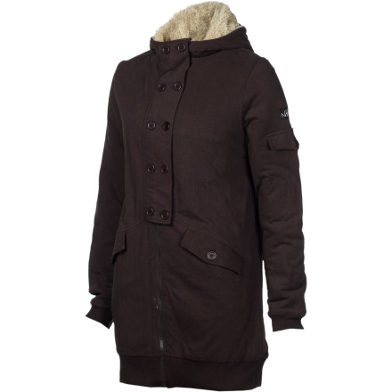 The only jacket you'll reach for in your packed closet is the Nikita Women's Amak Jacket. That probably has something to do with its oh-so-cozy sherpa lining, fresh design, and quality fabric. - $44.48