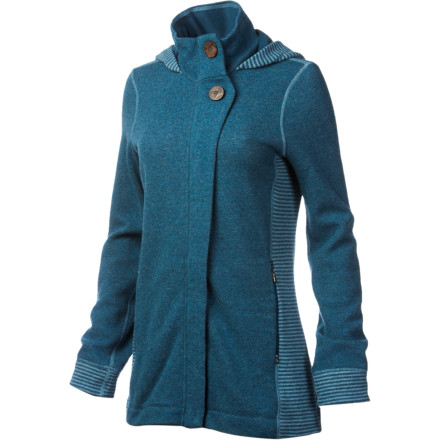 Slip on the prAna Kari Jacket for fall film festivals, outdoor concerts, shows at the local drive-in, and dinners downtown. - $148.71