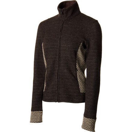Zip up in the prAna Women's Maura Jacket when you want to put something warm and luxurious between you and cool shoulder-season air. - $79.72
