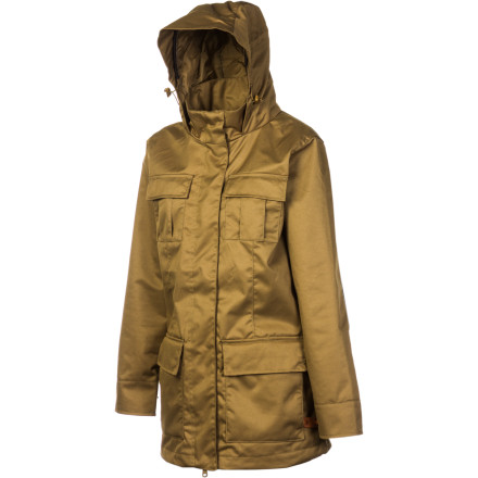 Whether you're busy being a tourist, taking your pooch for a stroll, or enjoying an afternoon in the park, wear the Sitka Women's Puffin Jacket. If the storm clouds roll in, you won't mind a DWR coating, taped critical seams, and packaway hood help with light drizzle and flurries. - $66.48