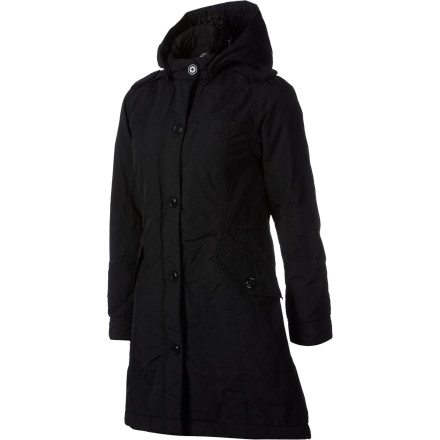 The I Spiewak & Sons Women's Ranger Fishtail Parka is a subtle blend of clean style and tough cold-weather protection. Slide into this jacket when you want an elegant look that is chic enough for evenings out on nights when it's cold enough to keep most people in. - $111.07