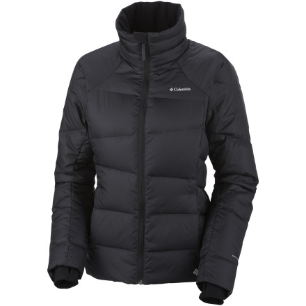 If you've ever wished for an extra layer of insulation beneath your shell, turn to the Columbia Women's Madraune Down Jacket. Equipped with lofty down insulation and Omni-Heat thermal reflective technology, the Madraune keeps you extra toasty and warm on single-digits days on the slopes or around town. - $89.98