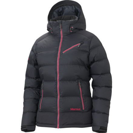 Ski Shivering and goosebumps can turn a beautiful ski day into what feels like a battle of survival. The Marmot Sling Shot Down Jacket uses 650-fill down to make sure you enjoy every single day of winter. - $227.47