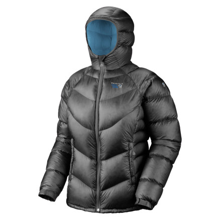 You got sweaty on the skin up, but once you get to the ridge, it's time to bundle-up and start scoping the best line down. Pull the Mountain Hardwear Kelvinator Jacket out of your pack and slide it on. - $172.22
