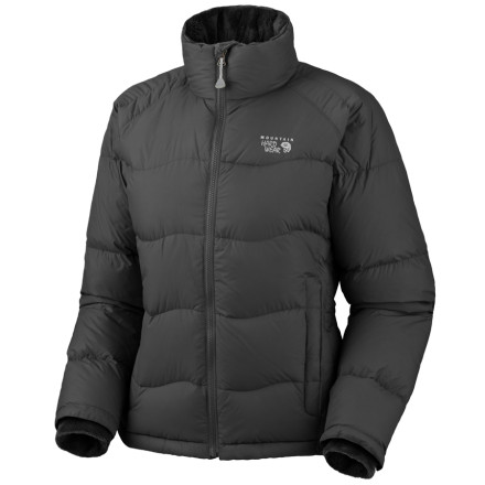 Ski Thanks to its 650-fill goose down insulation, the Mountain Hardwear Lodown Jacket brings all the warmth and comfort of grandma's home cooking. This combined with a tough-as-nails micro taffeta shell ensures that you're cozy as can be in just about any weather. - $116.97